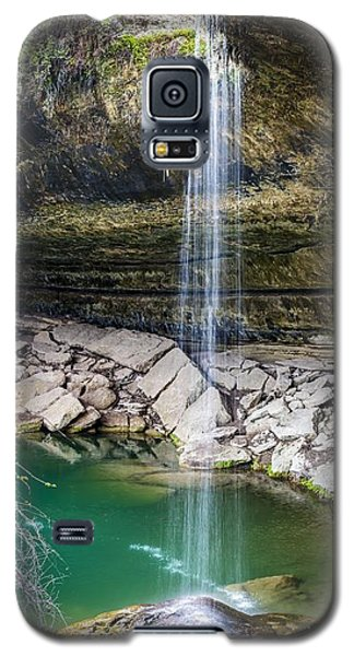 Waterfall At Hamilton Pool Galaxy S5 Case