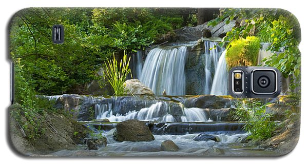 Waterfall At Lake Katherine 2 Galaxy S5 Case
