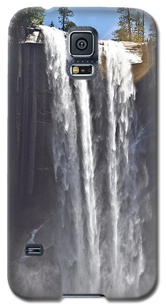 Galaxy S5 Case featuring the photograph Waterfall by Brian Williamson