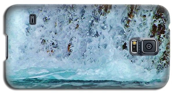 Galaxy S5 Case featuring the photograph Waterfall Closeup by Brigitte Emme