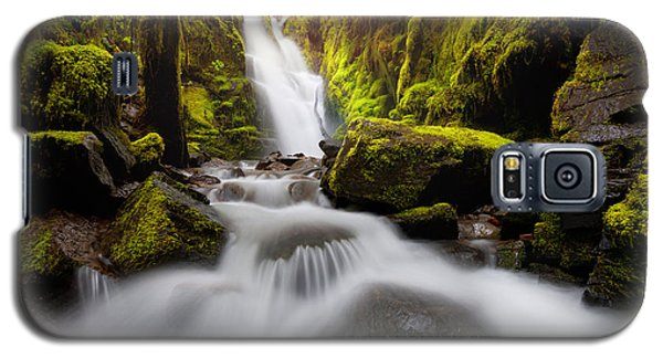 Waterfall Glow Galaxy S5 Case