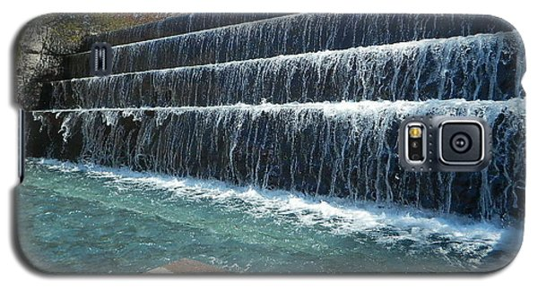 Galaxy S5 Case featuring the photograph Waterfall Heaven by Emmy Marie Vickers