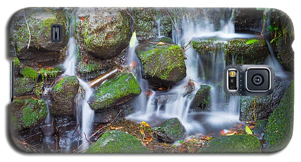 Waterfall In Marlay Park Galaxy S5 Case by Semmick Photo