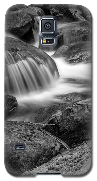 Waterfall In Mount Rainier National Park Galaxy S5 Case by Bob Noble Photography