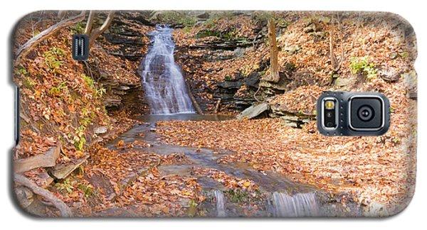 Waterfall In The Fall Galaxy S5 Case