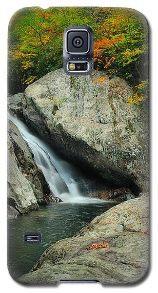 Waterfall In West Fork Of Pigeon River Galaxy S5 Case