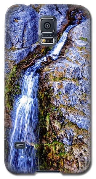 Waterfall-mt Timpanogos Galaxy S5 Case