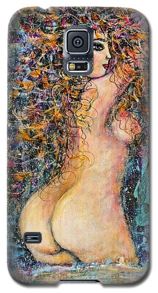 Waterfall Nude Galaxy S5 Case by Natalie Holland