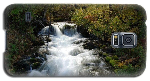 Waterfall On The Little Spearfish Iv Galaxy S5 Case