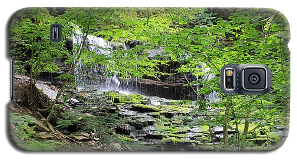 Waterfall Ricketts Glen State Park Pa Galaxy S5 Case