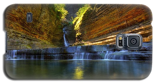 Waterfalls At Watkins Glen State Park Galaxy S5 Case