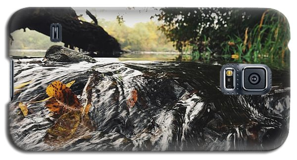 Galaxy S5 Case featuring the photograph Waterfalls Beginnning by Nikki McInnes