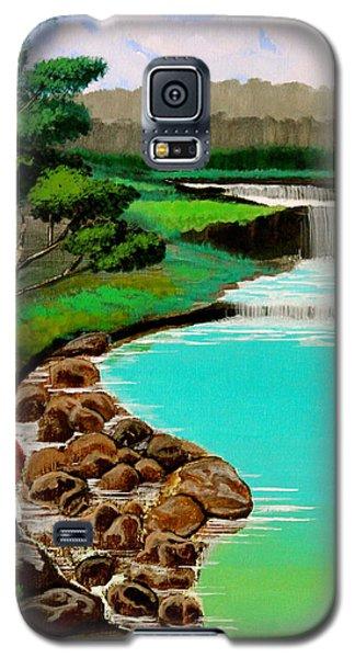 Waterfalls Galaxy S5 Case by Cyril Maza