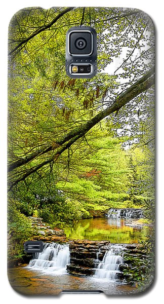 Waterfalls In Late Summer Pocono Mountains Pennsylvania Galaxy S5 Case
