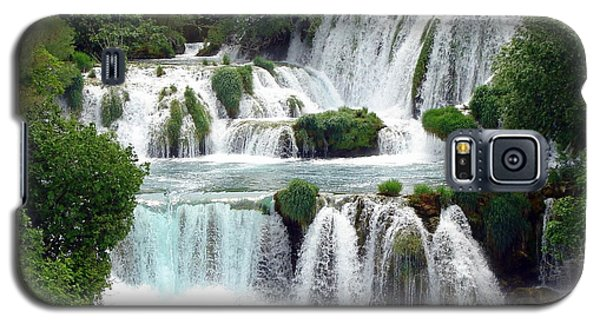 Waterfalls Of Plitvice Galaxy S5 Case