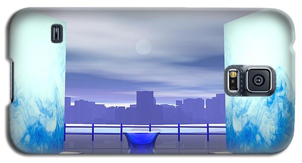 Galaxy S5 Case featuring the digital art Waterfront by John Pangia
