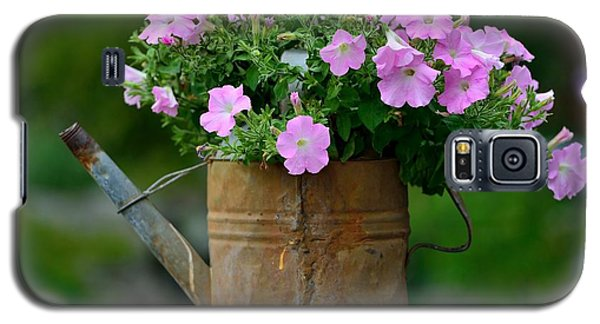 Watering Can And Flowers Galaxy S5 Case