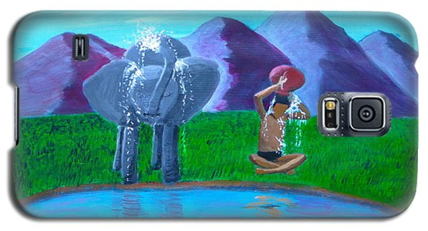 Watering Hole Friends Galaxy S5 Case
