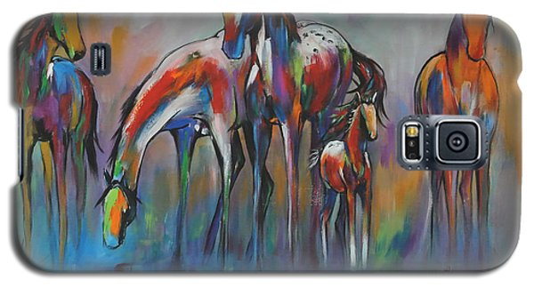 Watering Hole 2 Galaxy S5 Case by Cher Devereaux
