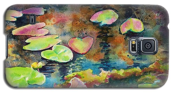 Waterlilies In Shadow Galaxy S5 Case