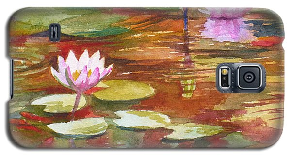 Waterlilies Galaxy S5 Case