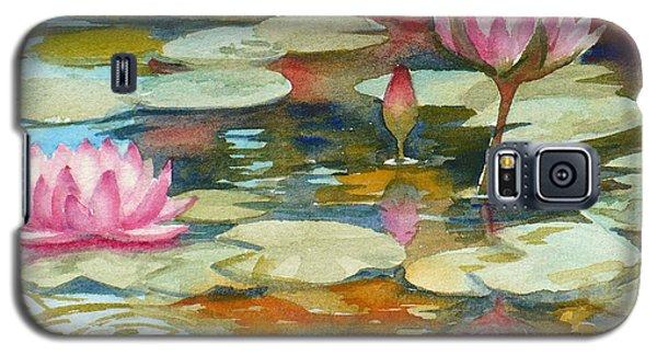 Waterlily Pond Galaxy S5 Case