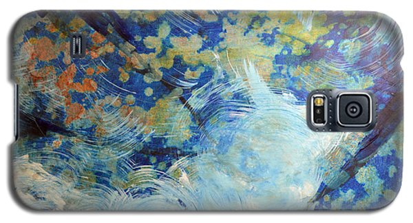 Galaxy S5 Case featuring the painting Water's Edge Flow by John Fish