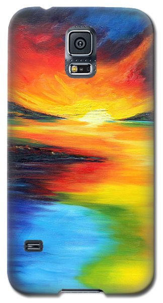 Galaxy S5 Case featuring the painting Waters Of Home by Meaghan Troup