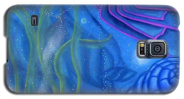 Galaxy S5 Case featuring the pastel Watery by Susan Will