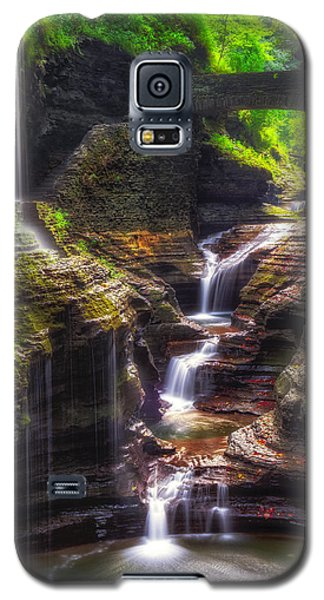 Watkins Glen Rainbow Falls Galaxy S5 Case