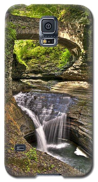 Watkins Glen Waterfalls Galaxy S5 Case