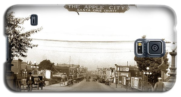 Watsonville California  The Apple City Circa 1926 Galaxy S5 Case by California Views Mr Pat Hathaway Archives