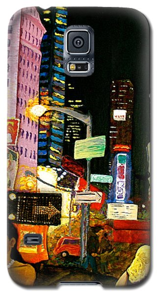 Galaxy S5 Case featuring the painting Wattage by D Renee Wilson