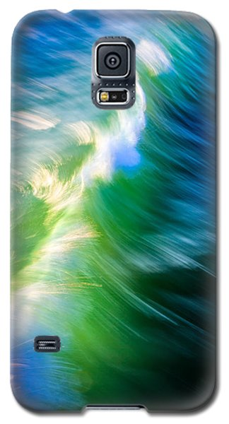 Wave Abstract Triptych 1 Galaxy S5 Case