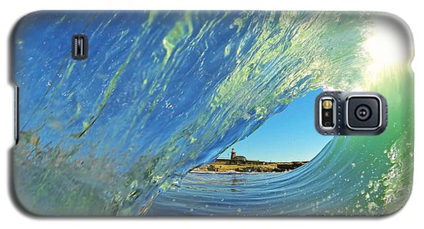 Wave And Lighthouse 2 Galaxy S5 Case by Paul Topp