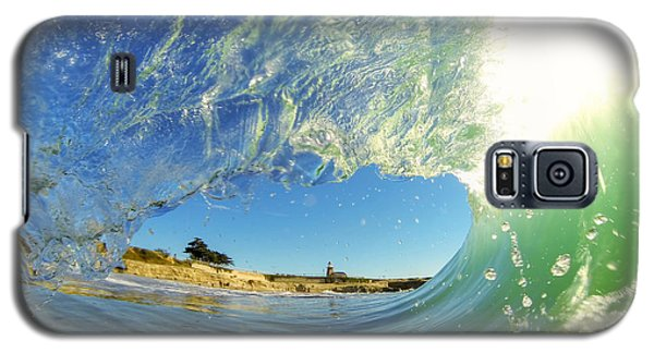 Wave And Lighthouse 3 Galaxy S5 Case by Paul Topp
