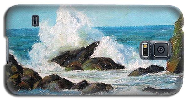 Wave Galaxy S5 Case by Jieming Wang