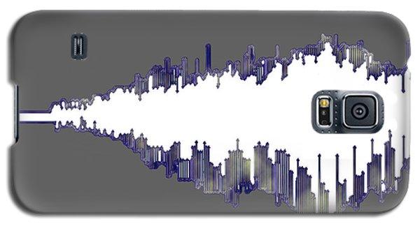 Galaxy S5 Case featuring the digital art Wave by Ken Walker