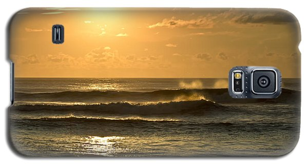 Galaxy S5 Case featuring the photograph Waves Of Life by Skip Tribby