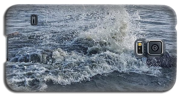Galaxy S5 Case featuring the photograph Wave Splash by Nikki McInnes