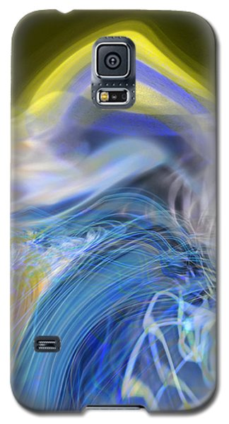 Galaxy S5 Case featuring the digital art Wave Theory by Richard Thomas