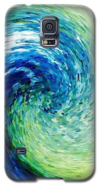 Wave To Van Gogh Galaxy S5 Case