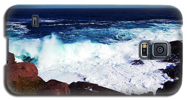 Wave Galaxy S5 Case by Zinvolle Art
