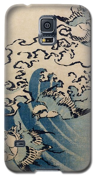 Waves And Birds Galaxy S5 Case