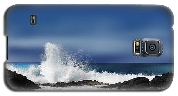 Galaxy S5 Case featuring the photograph Waves by Athala Carole Bruckner
