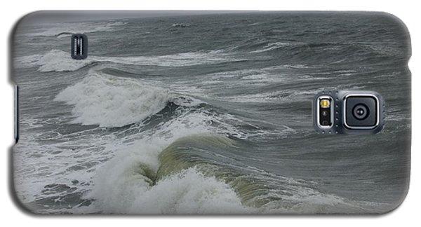 Galaxy S5 Case featuring the photograph Waves  by Deborah DeLaBarre