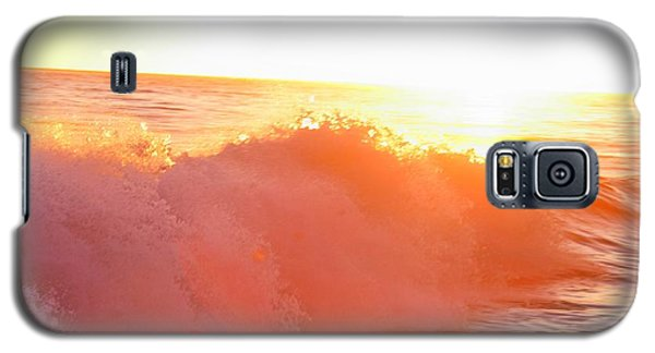 Waves In Sunset Galaxy S5 Case