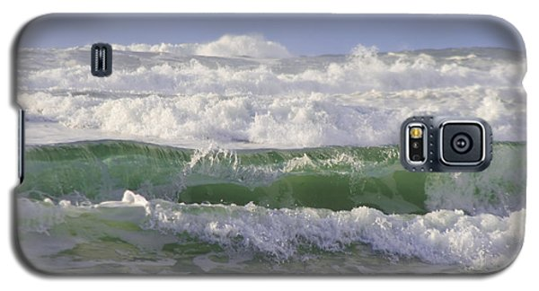 Waves In The Sun Galaxy S5 Case by Adria Trail