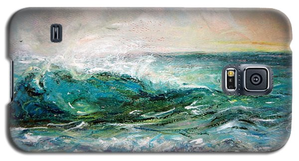 Waves Galaxy S5 Case by Jieming Wang