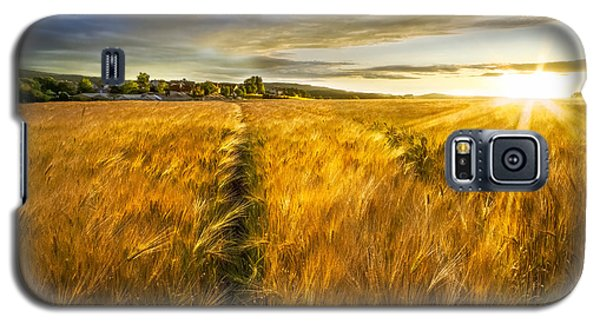Waves Of Grain Galaxy S5 Case